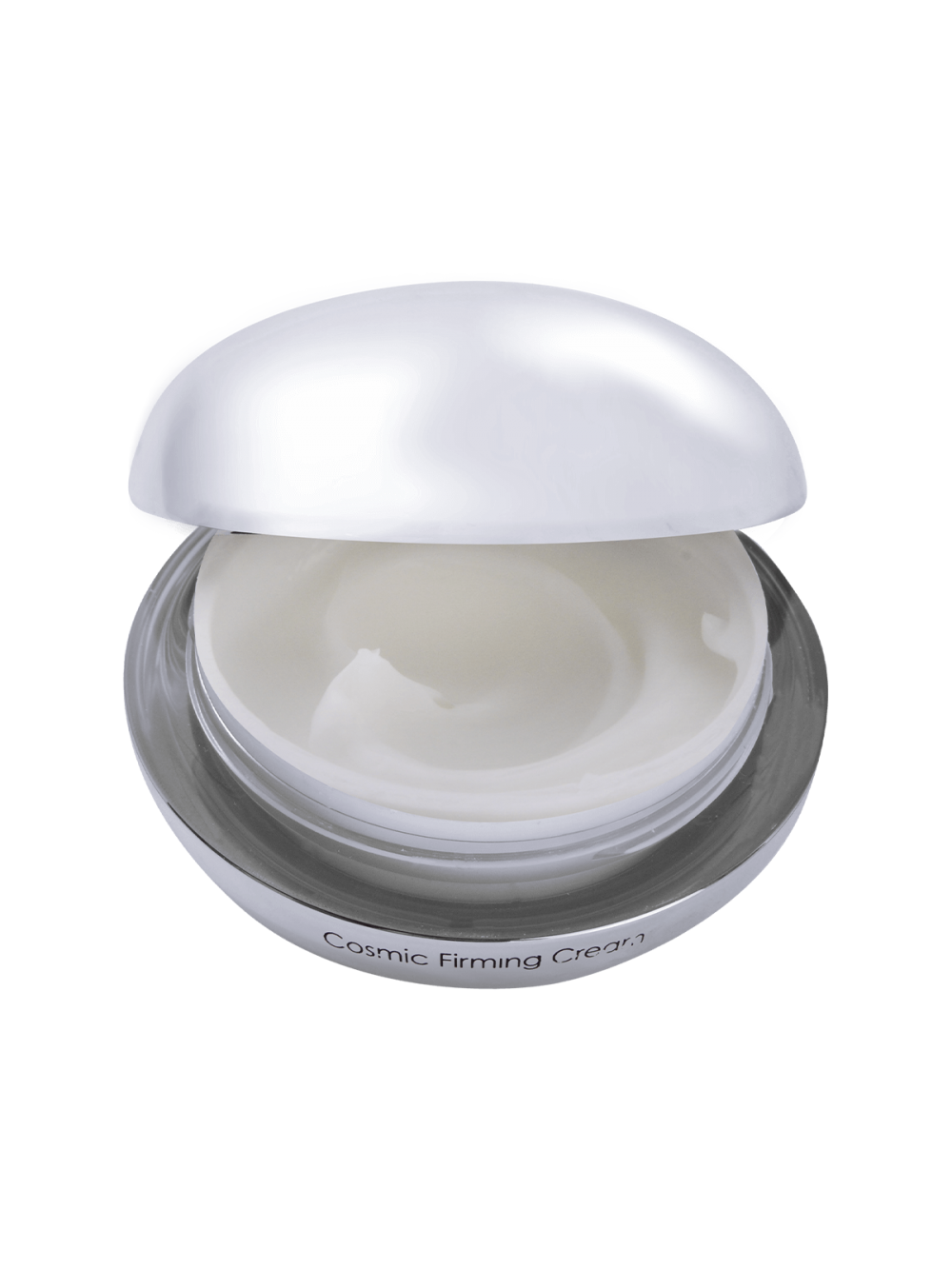 Cosmic Firming Cream with removed lid