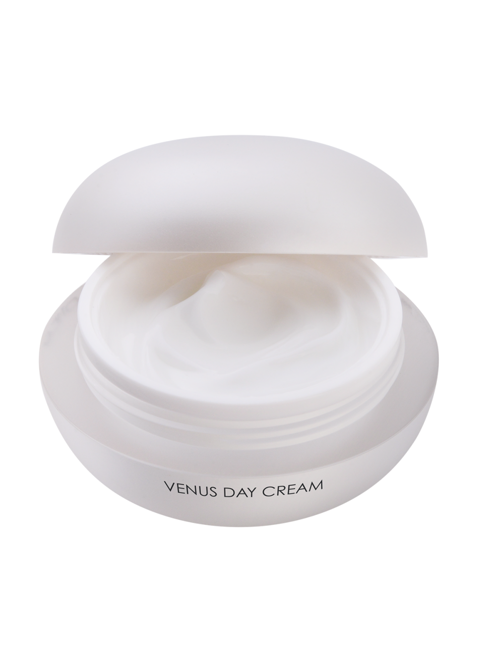 Venus Day Cream with open lid